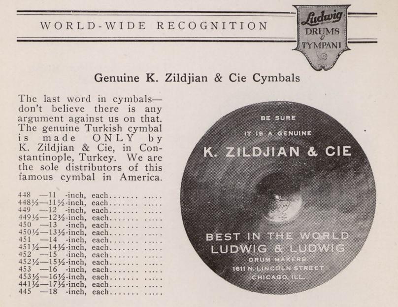 Ziljdian cymbals